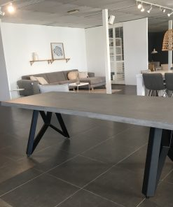 betonlook tafel milan cross