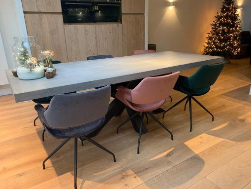 betonlook tafel matrix poot
